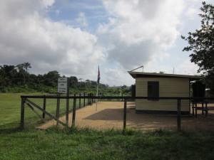 Binnenland Suriname; Vliegveld Ladouani (foto: René Hoeflaak)