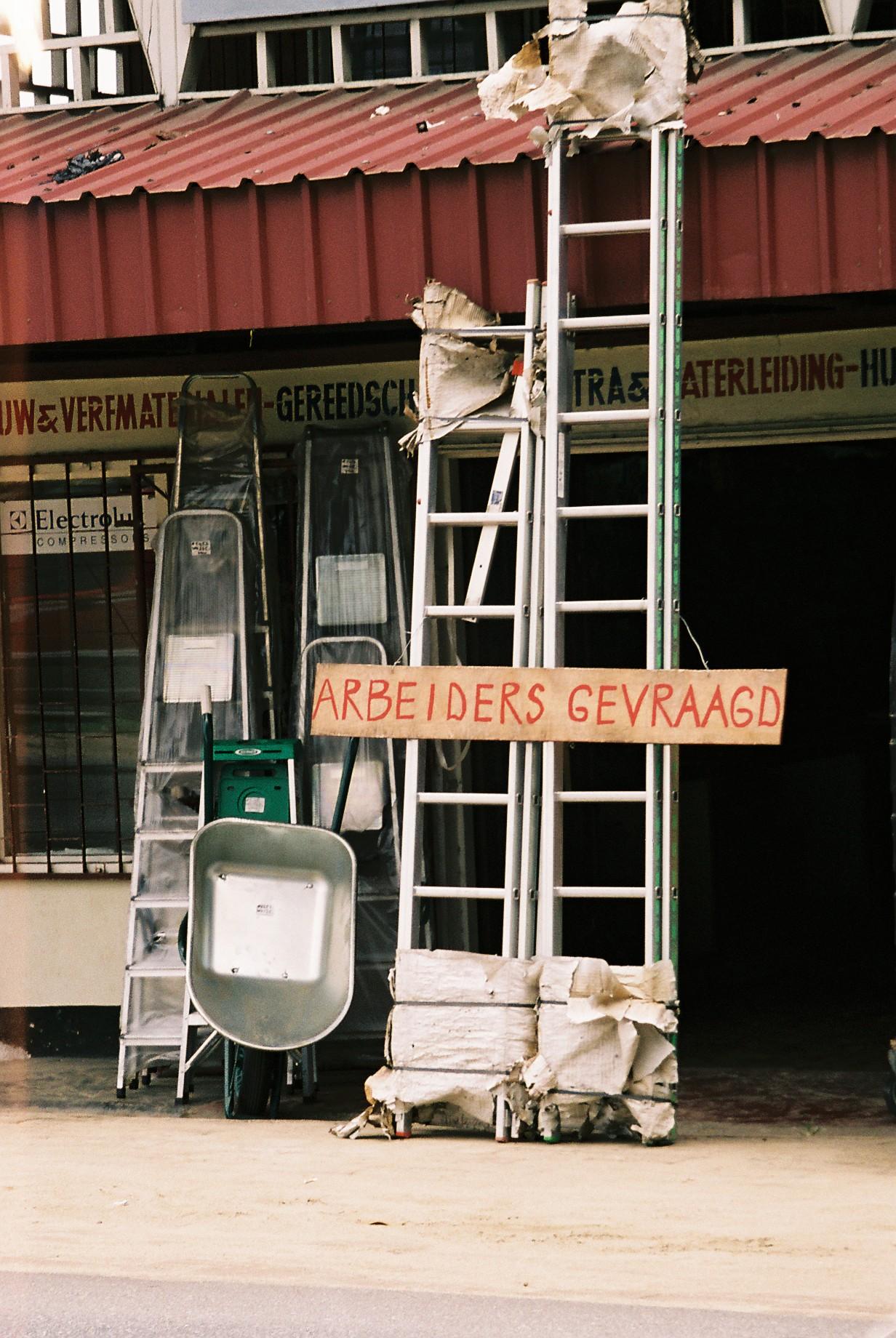 Suriname, maart 2006 (foto: René Hoeflaak)