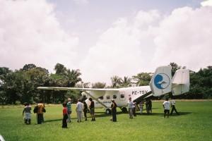 Vliegveld Kajana, maart 2006 (foto: René Hoeflaak)