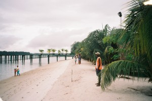Suriname, 2006: Recreatieoord White Beach  (foto: René Hoeflaak)