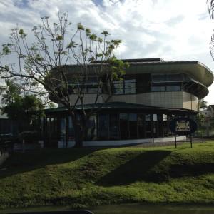 Februari 2014: Nederlandse ambassade in Paramaribo (foto: René Hoeflaak)