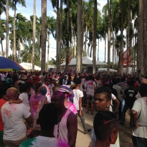 Maart 2016: Holi Pagwa, kleurrijk Hindostaans feest (foto: René Hoeflaak)