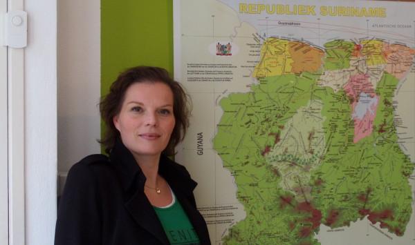 Suzette Eeltink, eigenaresse van Suriname Holidays (foto: René Hoeflaak)