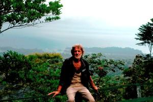 Engel Weijs bij Brownsberg in Suriname (foto archief: Engel Weijs)