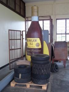 Rondleiding in de rumfabriek van de S.A.B. Iedere dinsdagochtend om 09.30 uur (foto: René Hoeflaak)