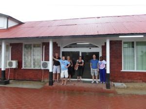 'Gezellig' schuilen in Suriname (foto: René Hoeflaak)