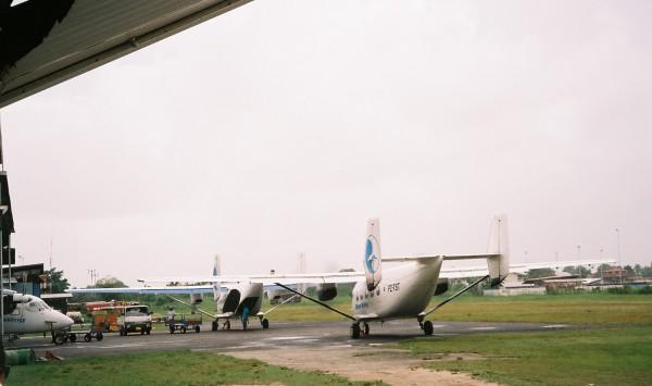 Maart 2006, vliegveld Zorg en Hoop (foto: René Hoeflaak