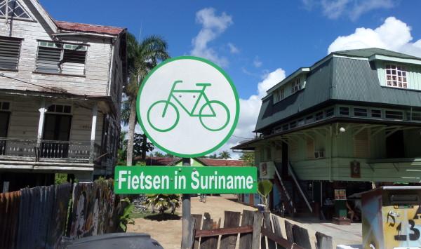 Fietsen in Suriname