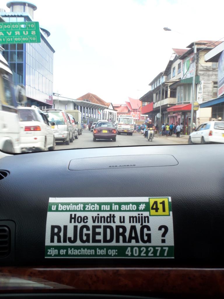 Taxi in Paramaribo