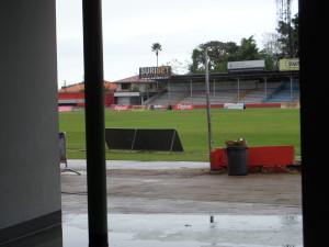 Veld van het André Kamperveen stadion (foto: René Hoeflaak)