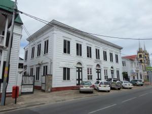 Paramaribo, februari 2014: Hendrikschool aan de Henck Arronstraat (foto: René Hoeflaak)