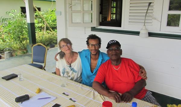 Maart 2016: Linde, Sandy en Waldie Breeveld (foto: René Hoeflaak)