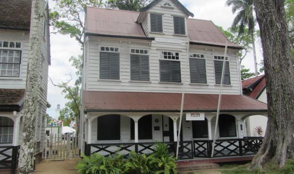 Het kantoor van Stadsherstel Paramaribo aan de Zeelandiaweg in Paramaribo (foto: René  Hoeflaak)
