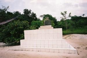 Maart 2006: monument ter nagedachtenis van de slachtoffers van de SLM vliegramp in 1989 (foto: René Hoeflaak)