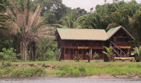 Dorpje aan de Boven Surinamerivier (foto: René Hoeflaak)