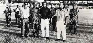Een jonge Clarence Seedorf in Suriname (foto: collectie Guno Hoen)