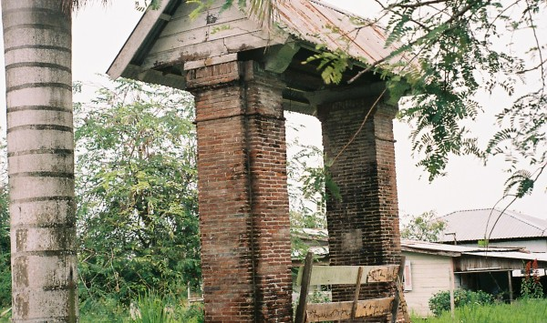 Maart 2006, Plantage Rust en Werk, Commewijne, Suriname (foto: René Hoeflaak)