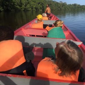 Toerisme in Suriname (foto: René Hoeflaak)