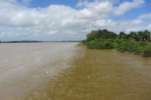 20 maart 2016, Suriname rivier (foto: René Hoeflaak)