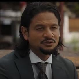 Rodney Lam als Winston Righter in de film Suriname