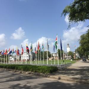 Suriname, Paramaribo, binnenstad, 7 februari 2017 (foto: René Hoeflaak)