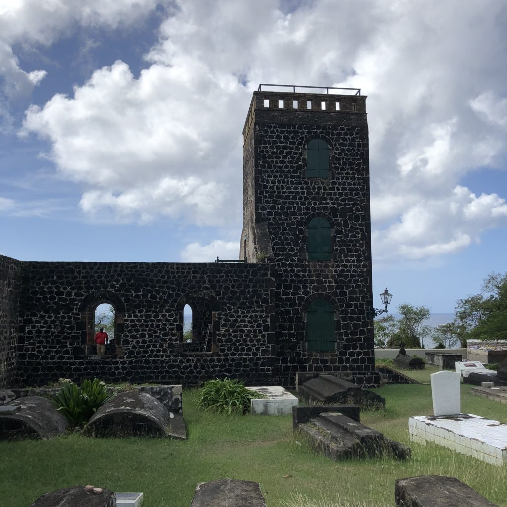 Kerkweg, Oranjestad, Sint-Eustatius: