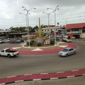Verkeer in Paramaribo