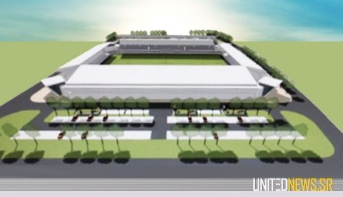 Voetbalstadion Suriname