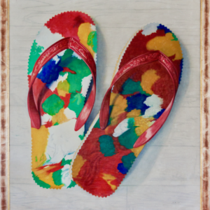 Jules Chin A Foeng, 'Chinese slippers',