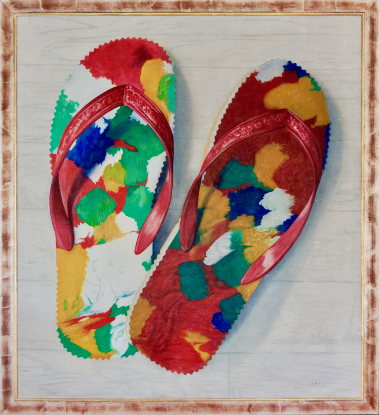 Jules Chin A Foeng, 'Chinese slippers',